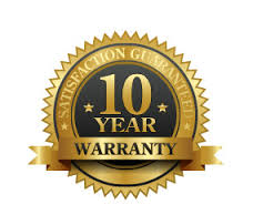 Up to a 10 Year Warranty